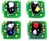 Чип пурпурного картриджа HP Cp1215 / 1515N / 1518NI / CM1312