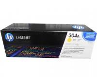 Картридж желтый HP Color LaserJet CP2025 / CM2320 оригинальный