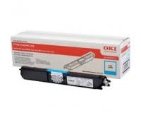 Картридж голубой 44250723 для Oki C110 / C130 / MC160 оригинальный увеличенного объема