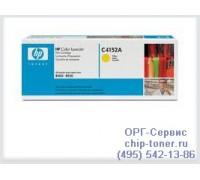 Картридж C4152A желтый для HP Color LaserJet 8500 / 8550 оригинальный