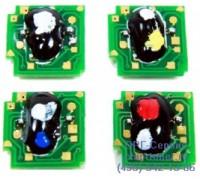 Чип голубого картриджа HP 1600 / 2600 / 2605